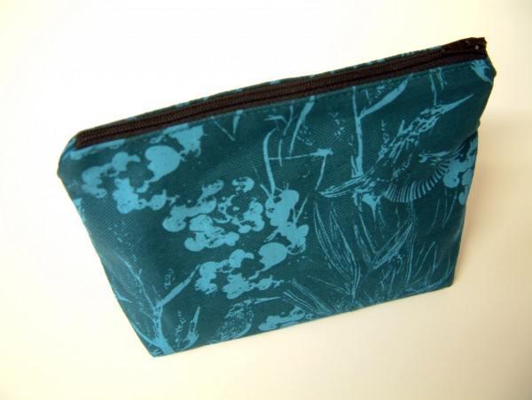 Make up bag Turquoise